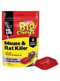 STV The Big Cheese Mouse & Rat Killer 6 Sachets