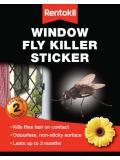 Rentokil Window Fly Killer Sticker 12
