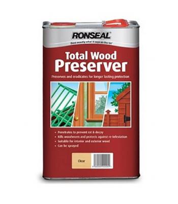Ronseal Total Wood Preserver 5 Liter