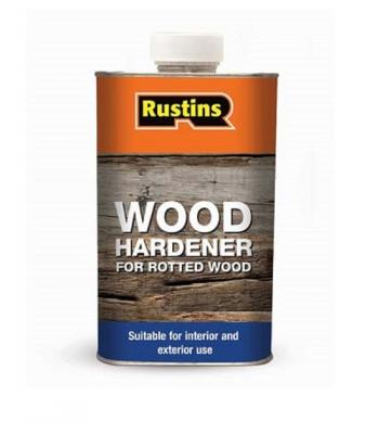 Rustins Wood Hardener for Rotted Wood 250ml
